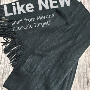 3 for15 likeNEW High end Target scarf black + free